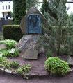 Grabdenkmal für John Brinckman  auf dem Güstrower  Friedhof