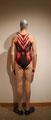 Altagstauglicher Badeanzug von KLAIM, rot