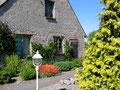Scheune im Garten Ferienhaus Naturidylle