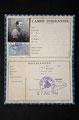Fausse carte d'identité vierge, 1942