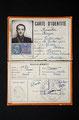 Carte d'identité du clandestin, 1942