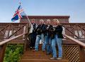 Vier Fotoverrückte in Island - Sabine, Klaus, Andreas, Gudrun