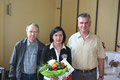 Klaus Ihrke, Irene Neubauer und Bernd Meinecke