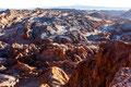 Chile: Atacama-Wüste, Mondtal