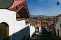 """Die """"weisse Stadt"""" Sucre, Hauptstadt Boliviens"""