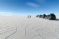 Bolivien, Uyuni-Salzsee. Grösster Salzsee der Welt.