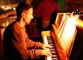 Ein Urgestein der Candlelight Session - Stefan Reiser am Klavier