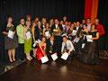 Abschlussschülerinnen und -schüler der Klasse 10a