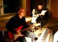 Herr Becker (Guitar) und Herr Rieder (Vocals)