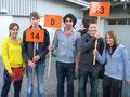 Die Schülerinnen und Schüler der 10. Klassen waren als RiegenführerInnen eingeteilt