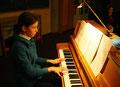 Alina Steg am Klavier mit der Mondscheinsonate