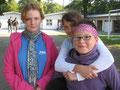 Schülerinnen der Klasse 7a