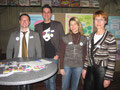 4 MitgliederInnen unseres Planungsteams: v.l.n.r.: Marco Rieder, Daniel Jacob, Daniela Micek und Marianne Ochsenreither