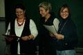 Lehrerchor - Margarete Winter-Brandl, Susanne Nachbar-Geiger und Susanne Siegwarth