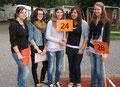 Riegenführerinnen der Klasse 10c