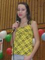 Aurelia Gaudier (5b) trat mit einer Gesangsnummer an
