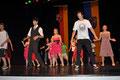Tanzdarbietung der Klasse 10a