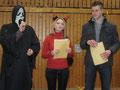 Die Jury bei der Preisverleihung