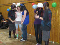 Gesangsdarbietung: Steffi, Milena, Julia, Michelle und Joelle