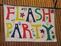Banner für die Party