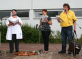 """""""AQS-Steuergruppe"""" - Margarete Winter-Brandl, Patricia Supper und Werner König"""