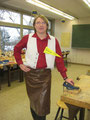 """Technik-Lehrer Thomas Abt im seinem """"Arbeitsoutfit"""""""