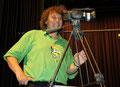 Werner König hält mit der Kamera alles fest