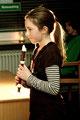 """Lilian Hauck (7e) spielte das virtuose Stück """"Eine kleine Nachtmusik"""" - und das noch in einem rasanten Tempo - super!!!"""