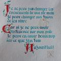 30èeme balbutiement - texte gothique fraktur - grosses lettres en rouge tourneur - 29.06.2017