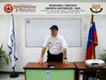 El Prof. Moniz en el Aula de Clases.