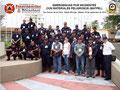 Detalle del lateral derecho del Grupo de Participantes y del Instructor.