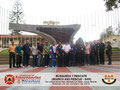 Toma general del Grupo de Participantes y del Instructor en el Monumento Escultórico de la UTAL en la entrada principal.