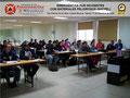 Vista General del Lateral Derecho del Aula de Clases con los Participantes.