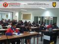 Toma General frontal del Aula de Clases con los participantes.