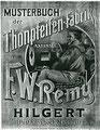 Catalogus W. Remy