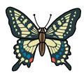 動物シリーズ 蝶