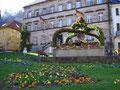Osterbrunnen am Marktplatz