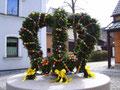Osterbrunnen am Rathaus