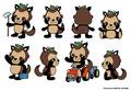 ミヤモトグループ(有限会社ミヤモト、株式会社秩父ふるさと村)イメージキャラクター「たぬ治」