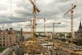 In Leipzig wird gebaut-Baustelle Höfe am Brühl