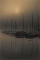 Boote im Nebel - Stephan Graf