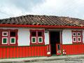 Kolumbien_Salento_Typisches Haus