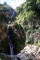 Guatemala_Westen_Lago de Atitlán_Wasserfall auf dem Weg nach Panajachel