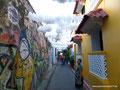 Kolumbien_Cartagena_Enges Gässchen
