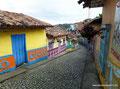 Kolumbien_Guatapé_Bunte Straßen