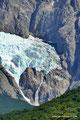 Argentinien_El Chaltén_Wasserfall am Piedras Blancas Gletscher