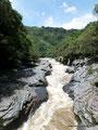 Kolumbien_San Augustín_Engstelle für den Fluss
