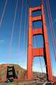 USA_Kalifornien_San Francisco_Golden Gate Bridge_Links oben ist der Aussichtspunkt