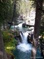 Kanada_Alberta_Banff NP_Wasserfälle entlang des Johnston Canyons1