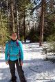 Kanada_New Brunswick_Fundy NP_Mit Schneeschuhen auf dem Coastel Trail
